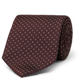 Drake's - 9cm Patterned Silk-faille Tie