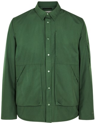 Norse Projects Jens Forest Green Gore-Tex Infinium Shell Jacket