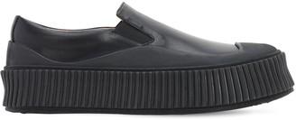 Jil Sander 40mm Slip-on Leather Sneakers
