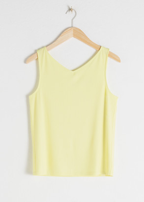 And other stories Basic V-Neck Tank Top
