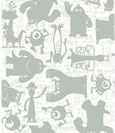 York Wall Coverings York wallcoverings Disney / Pixar Monsters, Inc. Graphic Removable Wallpaper