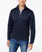 HUGO BOSS Green Men's Half-Zip Sweatshirt