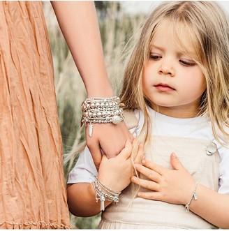 Chlobo ChloBo Childrens Sterling Silver Didi Tassel Bracelet - Silver