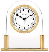 Bulova Colburn Table Clock in Gold