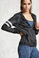 Forever 21 Active Reflective Stripe Jacket