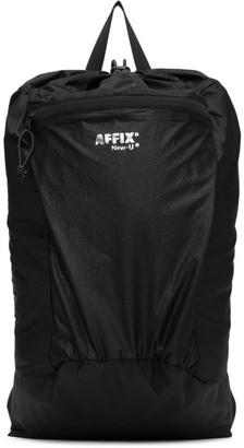 AFFIX Black Ripstop Backpack