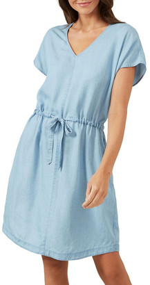 French Connection Chambray Mini Dress
