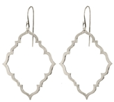 Marion Cage Portail Drop Earrings - Sterling Silver
