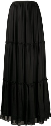 FEDERICA TOSI Tiered Gathered Skirt