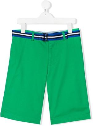 Ralph Lauren Kids TEEN Slim-Fit Belted Chino shorts