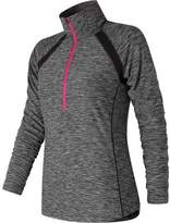 New Balance RWT81114 Anticipate Half Zip Pullover (Women's)