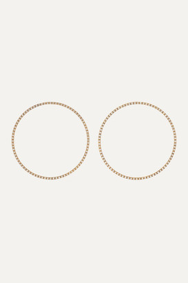 Ileana Makri Ceremony 18-karat Gold Diamond Earrings