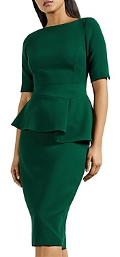 Ted Baker Peplum Sheath Dress