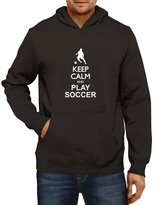 Idakoos - Keep calm and play Soccer silhouette - Sports - Hoodie