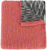 Missoni blockcolour blurry stripes scarf