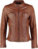 Oakwood Casey Leather Jacket Tobacco