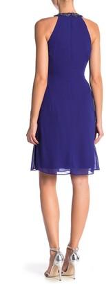Slny Necklace Halter Dress