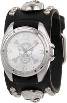 Nemesis Men's MSK906S Cross Bone Skull Watch