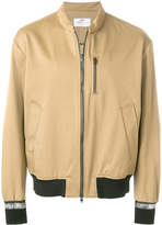 Oamc zip pocket bomber jacket