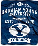 Bed Bath & Beyond Brigham Young University Raschel Throw Blanket