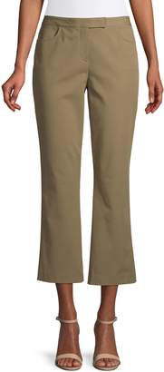 Theory Wide-Leg Cropped Pants
