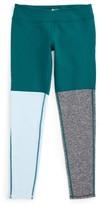 Zella Girl's Tricolor Performance Leggings