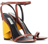 Balenciaga Bistrot Leather Sandals