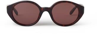 Mulberry Olivia Sunglasses Black Acetate