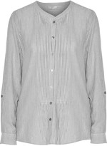 Joie Dunaway striped cotton blouse
