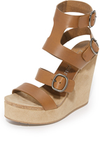 Pedro Garcia Tex Wedge Sandals