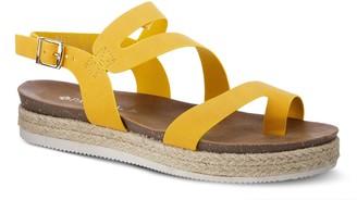 Spring Step Patrizia by Asymmetrical Strap Sandals - Kalissa