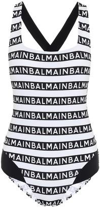 Balmain Logo swimsuit
