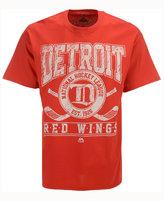 Majestic Men's Detroit Red Wings Vintage Five on Five T-Shirt