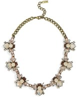BaubleBar Women's Abeja Crystal Collar Necklace
