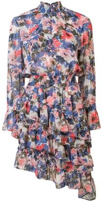 MISA Savanna floral-print dress