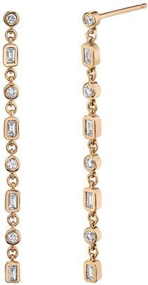 Shay Infinity Diamond Drop Earrings