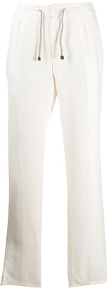Brunello Cucinelli Crease Effect Elasticated Waist Trousers