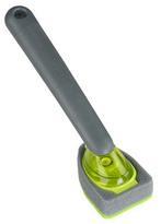 S/2 Soap Dispensing Sponge Brushes, Lime