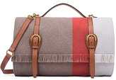 Tory Burch Wool Blanket Stripe Duffel