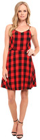 Kensie Buffalo Check Dress KS9K7701