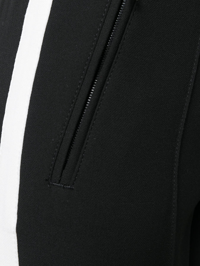 Cambio side stripe skinny trousers