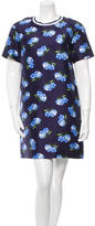 Mother of Pearl Floral Print Shift Dress