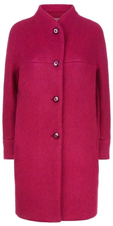 Fenn Wright Manson Polly Coat Petite Magenta