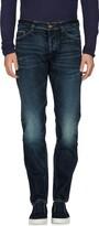 Care Label Denim pants - Item 42580853