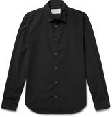 Maison Margiela Garment-Dyed Cotton-Poplin Shirt
