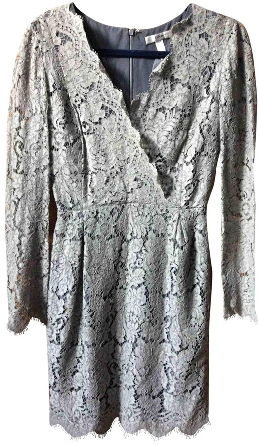 Erdem Grey Lace Dress for Women