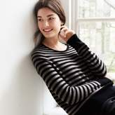 The White Company Stripe Crew Neck Jumper