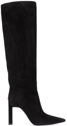 ATTICO Pointed High-Heeled Boots