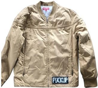 Supreme Yellow Cotton Jackets