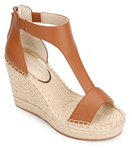Kenneth Cole Women's Olivia T-Strap Espadrille Sandals
